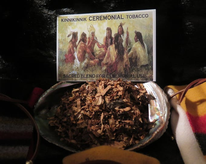 Native American Ceremonial Sacred Offerings a Smoke Mix of Organic Plants & Herbs