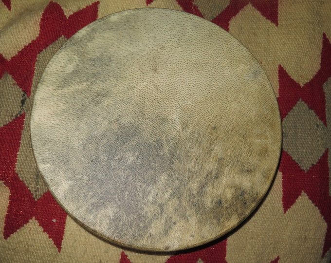 "LAST ONES Native American made Bear 18"" 16"" 15"" Bear Hide Drum lost Art of Bear hides a forgotten tradition Resonance Soft Deep Strong Sound"