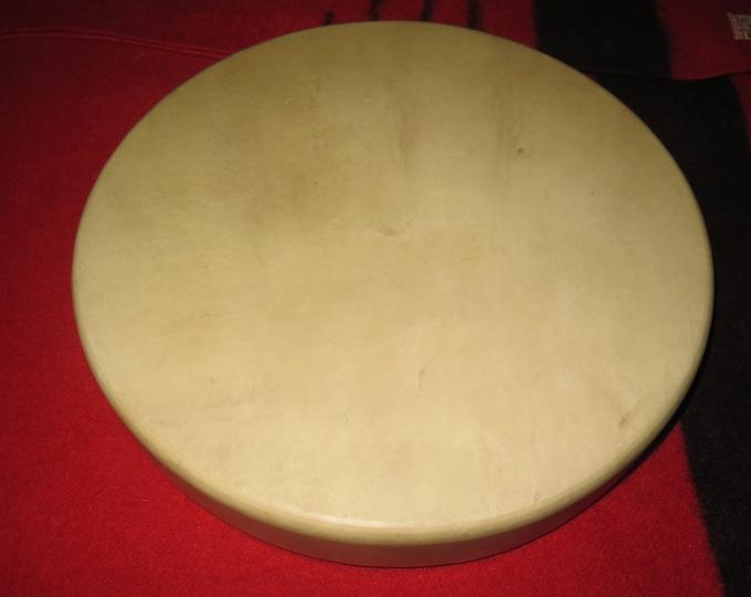 "SALE- Native American 15"" Elk Drum or 15"" Buffalo or 15"" Horse  Deep Awakening Powerful Shaman Drum"
