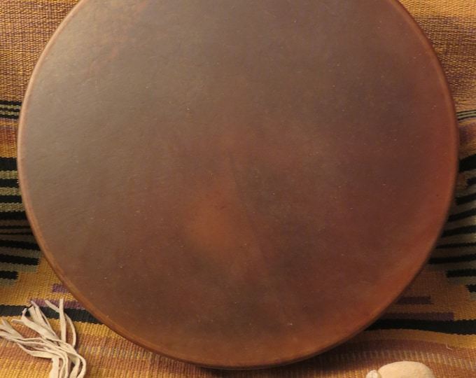 "Native American 15"" Buffalo or Horse Spirit Drum Hand Drum Incredible sounding Shamanic Journey Drum both pure energy Shamans Drum's"