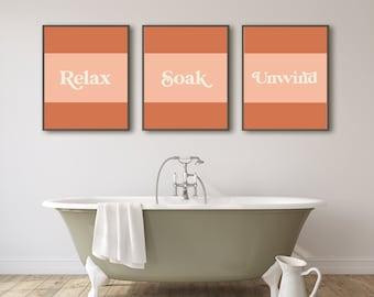 60s Bathroom Decor Etsy