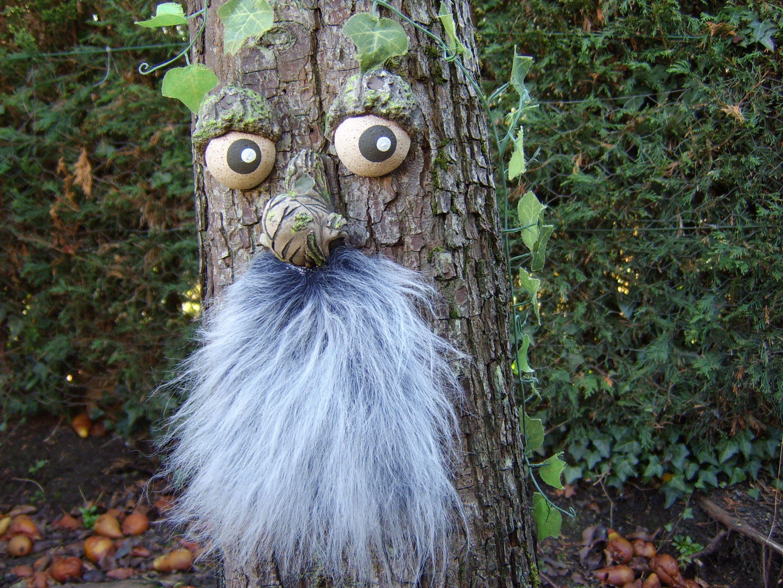 Tree Faces Garden Decorations Outdoor Statues Sculptures