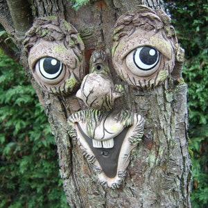 Owl Garden Tree Ornament Face Decoration