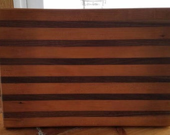 Cherry and Black Walnut Cutting Board