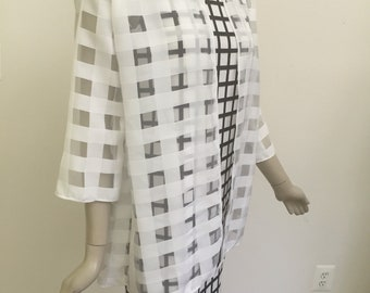 Black and White Dress and Jacket Ensemble. Chic Suits. For Special Occasions, Weddings, Garden Parties