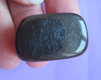 New & Rare Ancestralite  (10.5 grams / 26 mm) Tumblestone (C6) 'The Buck Stops Here'  - FREE UK POSTAGE