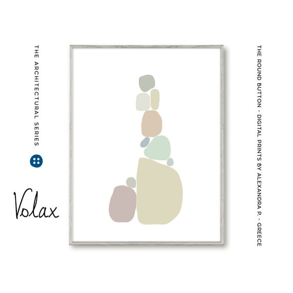 chambre bébé idée déco, digital illustration, printable file, pastel  colors, scandinavian style, minimal design print
