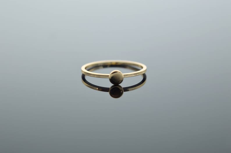 867893b21630a Circle ring, Circle solid gold, We can hand-mark your initials on Circle,  pink yellow or white gold, minimal ring, for all day