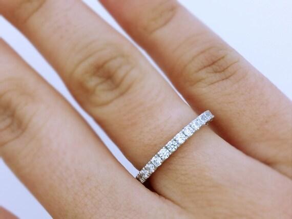 Diamond Engagement Ring Diamond Wedding Ring Wedding Band Etsy