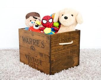 Vintage storage crate (XL)