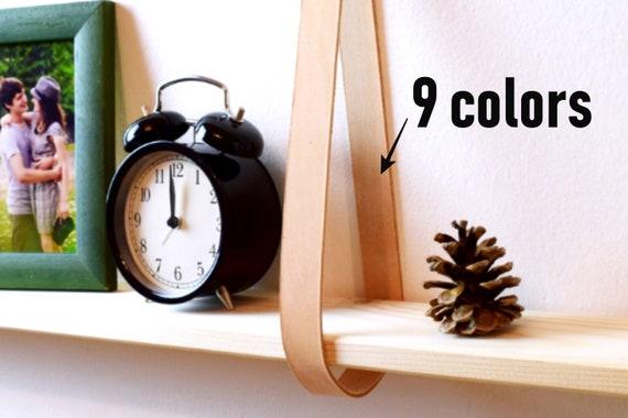 sangles d tag re tag re de sangle en cuir lani res de etsy. Black Bedroom Furniture Sets. Home Design Ideas