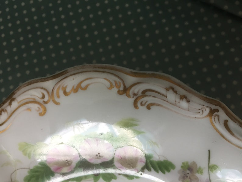 c1851-85 6996 Antique Spode Copleland China shell dish or serving bowl pattern no - FREE UK POST.