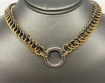 Aluminum 4-1 Half Persian Pup Collar