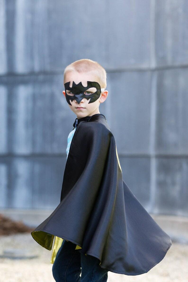 Personalized Batman Cape and Mask Set /Boy capes/Batman Birthday /Halloween  Costumes / Birthday Gift /Dress Up/ Superhero Capes
