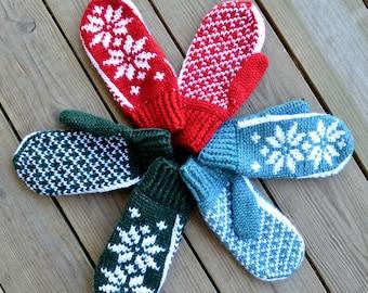 Wintertide Mittens   Crochet Pattern