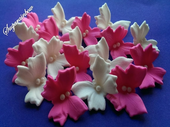 Edible sugar butterflies decorations  for cake cupcake toppers