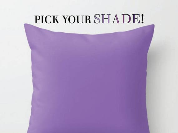 Lavender throw pillows are beautiful