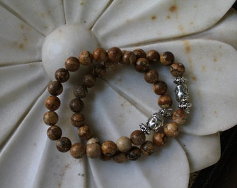 Picture Jasper Buddha Bracelet