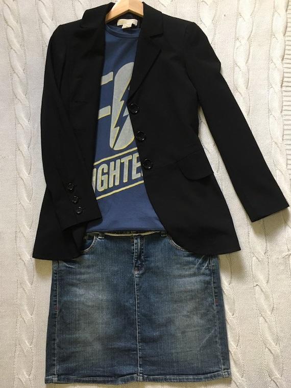 Tommy Hilfiger Vintage Denim Mini Skirt/ denim ski