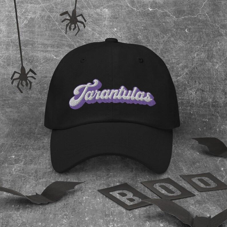 Embroidered Tarantula dad hat