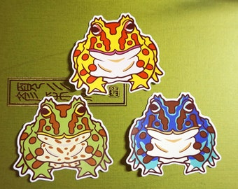 8x8cm Pacman stickers