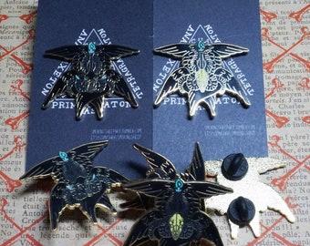 Baphomet-seraphim hard enamel pins (Last chance!)