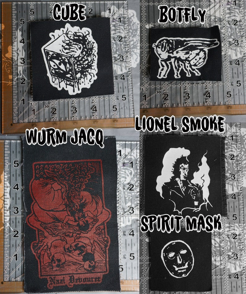 COTCA sew-on screen printed patches image 0