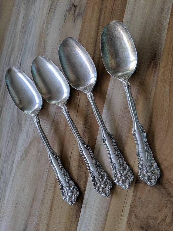 s Oval Soup KING LOUIS International Sterling Silver Flatware Dessert Spoon