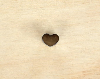 Mini Heart Cookie Cutter//love heart shape cookie cutter//clay cutter//heart decoration _ stainless steel