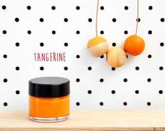 Wood Paint  - Tangerine- 15ml jar - 10 Beautiful Colours Available.