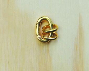 Key Ring//GOLD PLATED Key Ring // key chain// DIY key ring //Gold plated key chain
