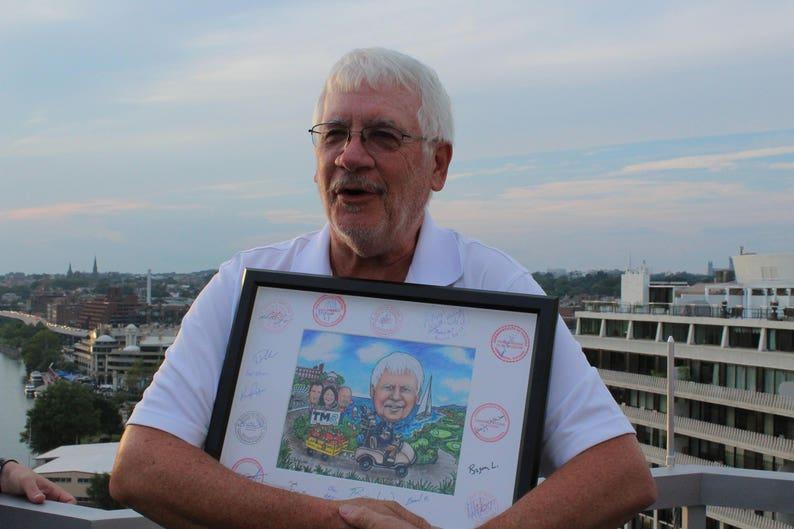 retirement for women retirement gift golfing caricature family caricature, retirement caricature Custom caricature retirement for men