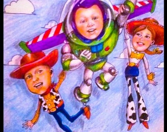 TOY STORY CARICATURE!