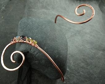 copper jewelry, bracelet