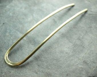 HELMUT - Hair forke, Forke,Brass,wire work,plain