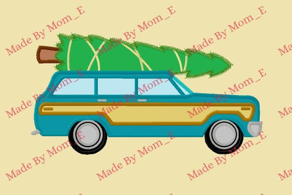 Christmas Vacation Car.Christmas Vacation Car And Tree