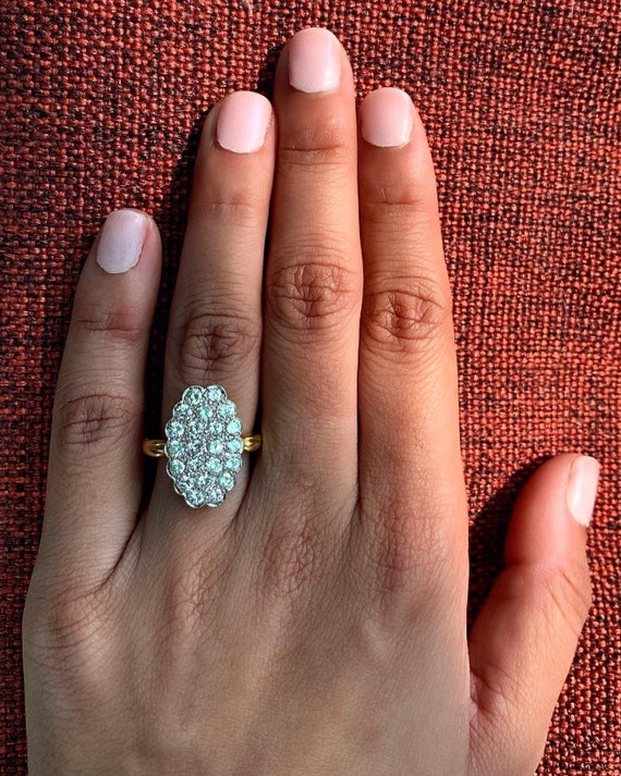 Art Deco diamond engagement ring with valuation