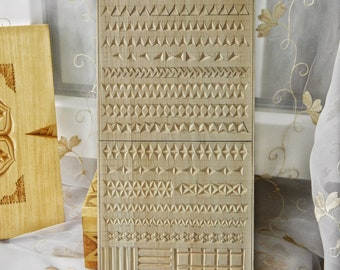 A set of practice basswood boards for practicing chip carving etsy