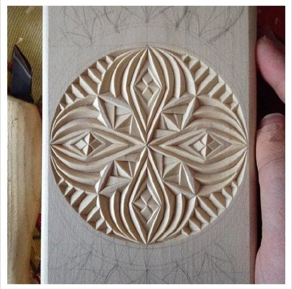 Pdf digital download album with hand drawn chip carving etsy