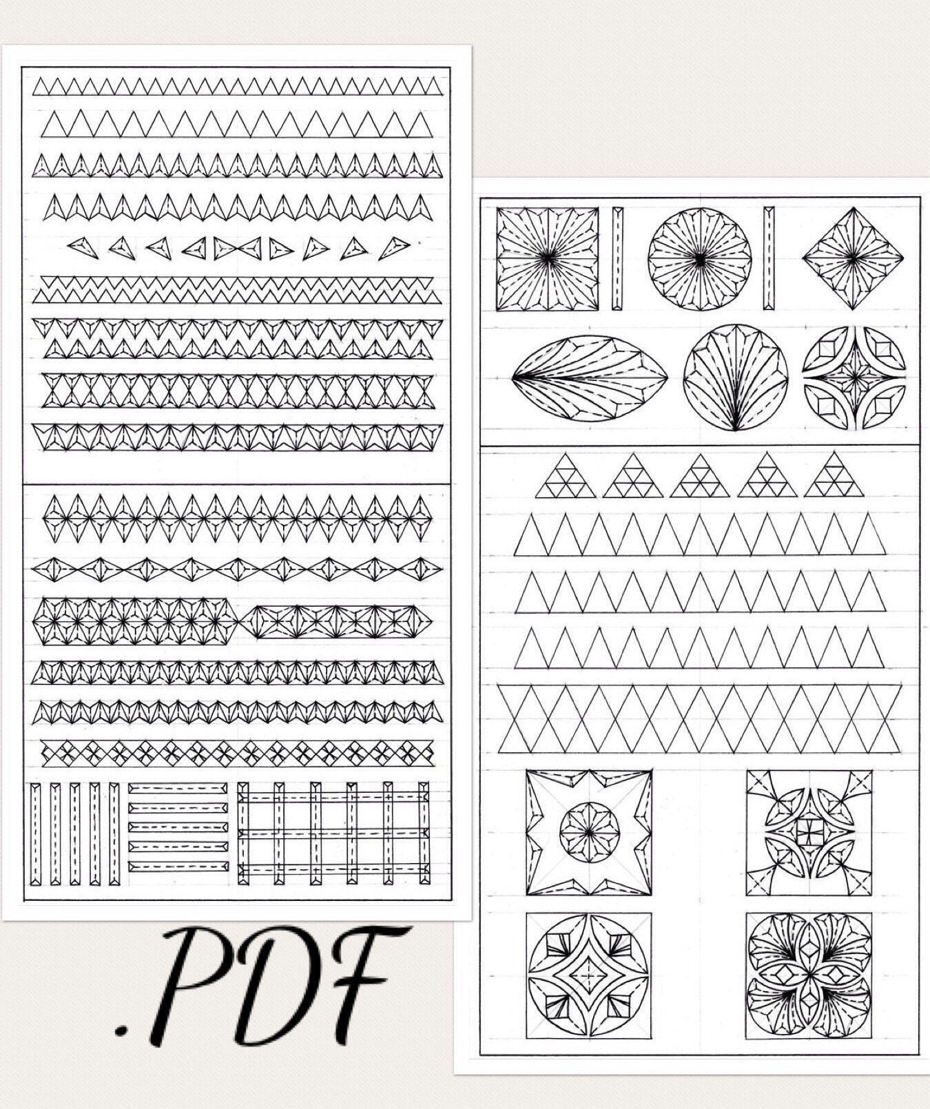 Pdf digital download practice basswood board patterns etsy