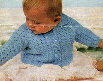 8f11c9c091e6 4ply baby cardigan