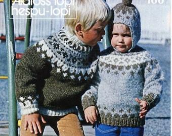 Fair Isle Sweater Pattern Etsy