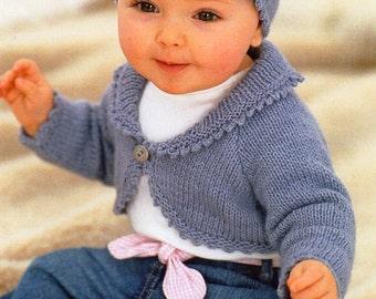 Childs Childrens Hats Knitting Pattern Pdf Chenille Dk