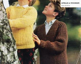 bca83affa baby sweaters knitting pattern PDF pattern panel jumper border