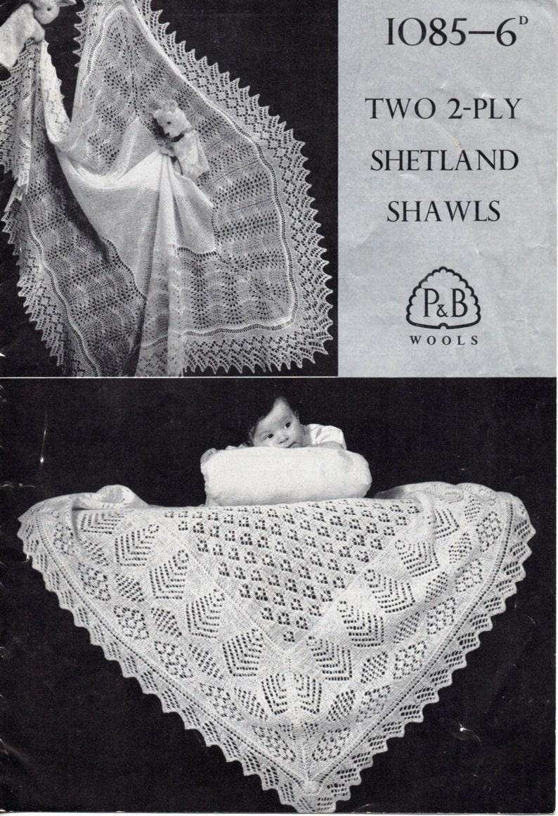 2b51a24e7 Baby Knitting Pattern Baby Shetland Shawls 2 Ply Shawls Square