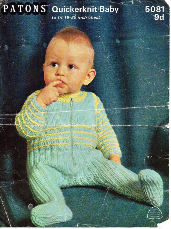 6e7e7943b Vintage baby dungarees and sweater knitting pattern pdf all in