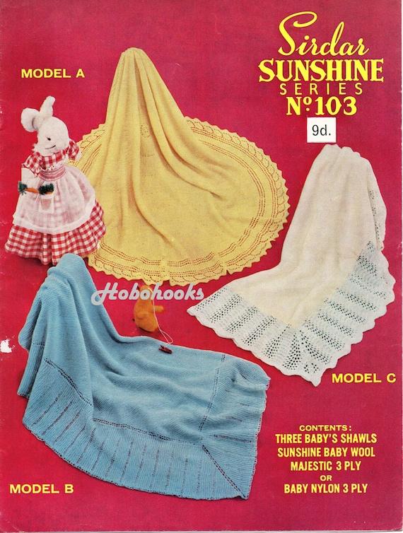 0ee9fa34c vintage baby shawl knitting pattern pdf Christening shawl