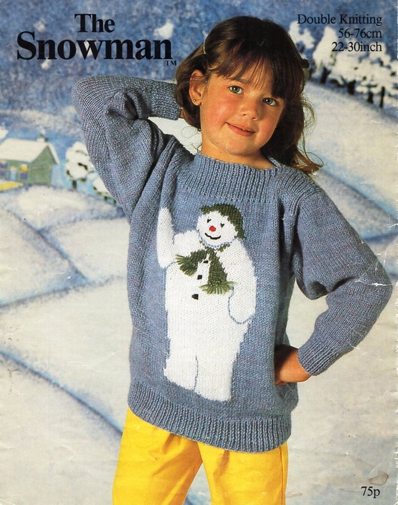 Baby Childs Childrens Christmas Jumper Knitting Pattern Etsy