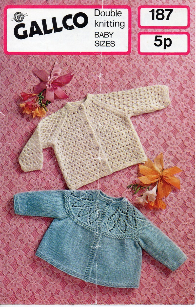 a2b14146202d Baby matinee coat knitting pattern pdf download lacy cardigan
