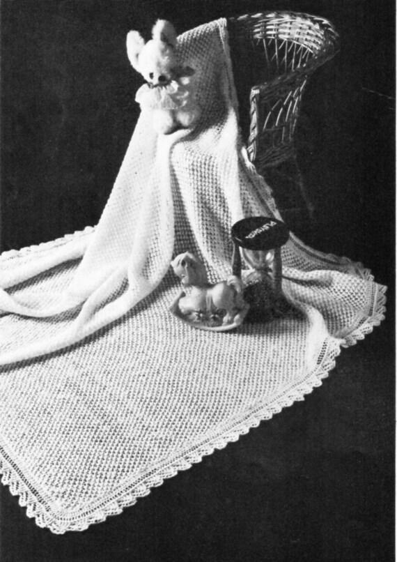 24d91e2ac vintage baby 2ply shawl knitting pattern pdf square shawl
